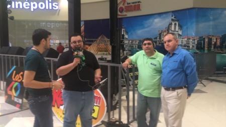EL EQUIPO DE GRUPO CHAVEZ RADIO, ESPERANDO E INVITANDO A DISFRUTAR DE «EL BEBETO»