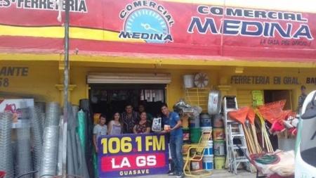 LA GS Y COMERCIAL MEDINA ENTREGAN PREMIOS A RADIOESCUCHA
