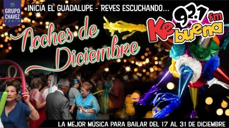 NOCHES DE DICIEMBRE POR LA KE BUENA 92.1FM