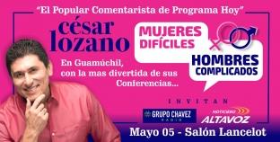EL POPULAR COMENTARISTA DEL PROGRAMA HOY EN GUAMUCHIL: CÉSAR LOZANO