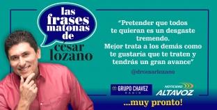 ¡CÉSAR LOZANO CADA VEZ MÁS CERCA DE LA CIUDAD!