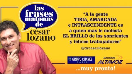 ¡CÉSAR LOZANO PRONTO EN LA CIUDAD!