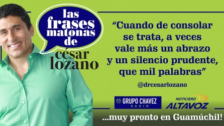 NO PUEDES PERDERTELO ¡CÉSAR LOZANO EN GUAMUCHIL!