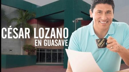 ¡¡¡MAÑANA CÉSAR LOZANO EN GUASAVE!!!