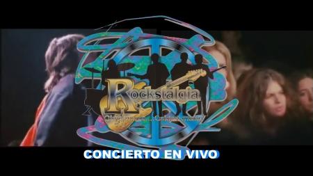 """SE VIENE CON TODO EL CONCIERTO EN VIVO DE """"ROCKSTALGIA"""""""