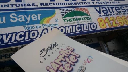 """PINTURAS ÓPTIMAS SE UNE A """"ARRIBA EL JEFE"""" ¡VISITALOS Y ANOTA A PAPÁ!"""