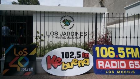 """GRAN CIERRE DE ACTIVACIONES """"ARRIBA EL JEFE"""" DESDE RESTAURANTE LOS JARDINES"""