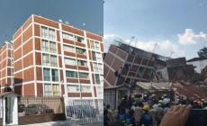 ESCENARIOS ANTES Y DESPUES DEL TERREMOTO EN CDMX