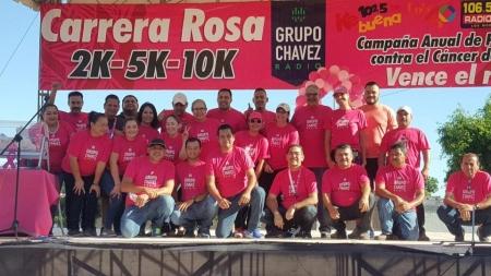 UN ÉXITO ¡LA CARRERA ROSA 2017 EN GUAMÚCHIL!