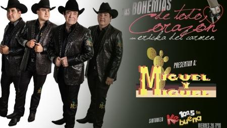MIGUEL Y MIGUEL ESTARÁN EN LAS BOHEMIAS DE TODO CORAZÓN ESTE VIERNES 20