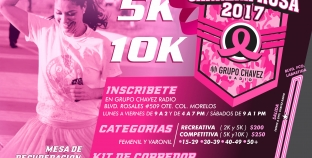 CORRE, TROTA O CAMINA ¡LA CARRERA ROSA 2017!