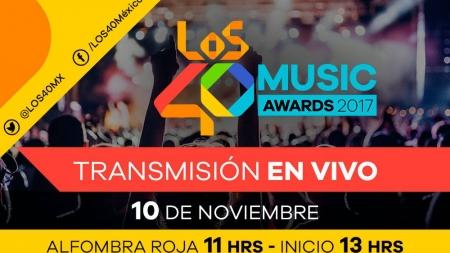 LOS40 MUSIC AWARDS: DÓNDE Y CUÁNDO VERLOS EN DIRECTO