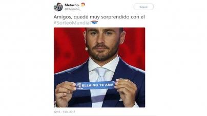 LOS MEJORES MEMES TRAS EL SORTEO MUNDIALISTA