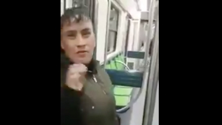 LA CACHAN ROBANDO EN EL METRO