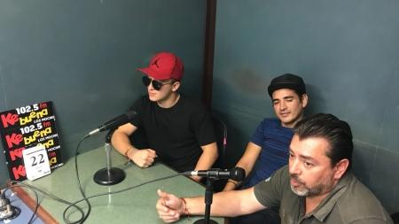 FRANCCESCO Y EL PODEROSO CIRCO ROLEX ¡EN ENTREVISTA PARA LA KE BUENA 102.5FM!