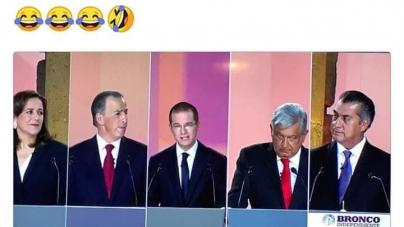 LOS MEJORES MEMES TRAS EL DEBATE PRESIDENCIAL EN MÉXICO