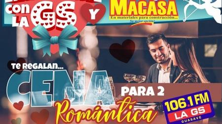 ENAMÓRATE CON LA GS 106.1FM Y MACASA GUASAVE