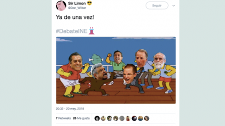 LOS MEJORES MEMES TRAS EL SEGUNDO DEBATE PRESIDENCIAL