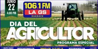 LA GS 106.1FM CELEBRARÁ AL AGRICULTOR EN SU DÍA