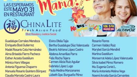 """ELLAS SON LAS GANADORAS DE LA PROMOCIÓN """"FELICIDADES MAMÁ 2018"""""""