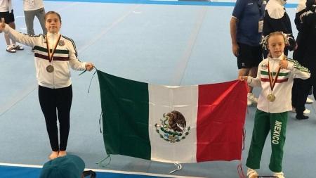 NIÑA MEXICANA CON SÍNDROME DE DOWN GANA ORO EN MUNDIAL DE GIMNASIA
