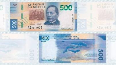 EL BILLETE DE 500 TENDRÁ NUEVO ROSTRO