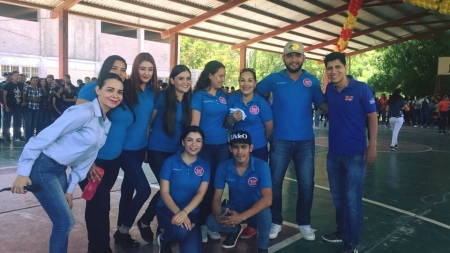 LA GS 106.1FM PRESENTE EN LA NOVATADA DE LA UADEO 2018