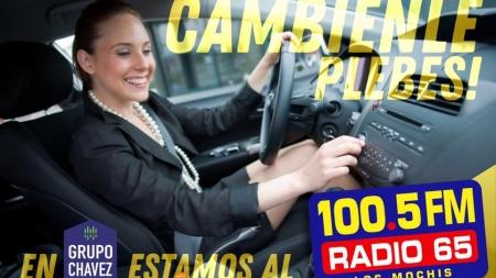 RADIO 65 AHORA ESTÁ EN NUEVA FRECUENCIA EL 100.5 FM