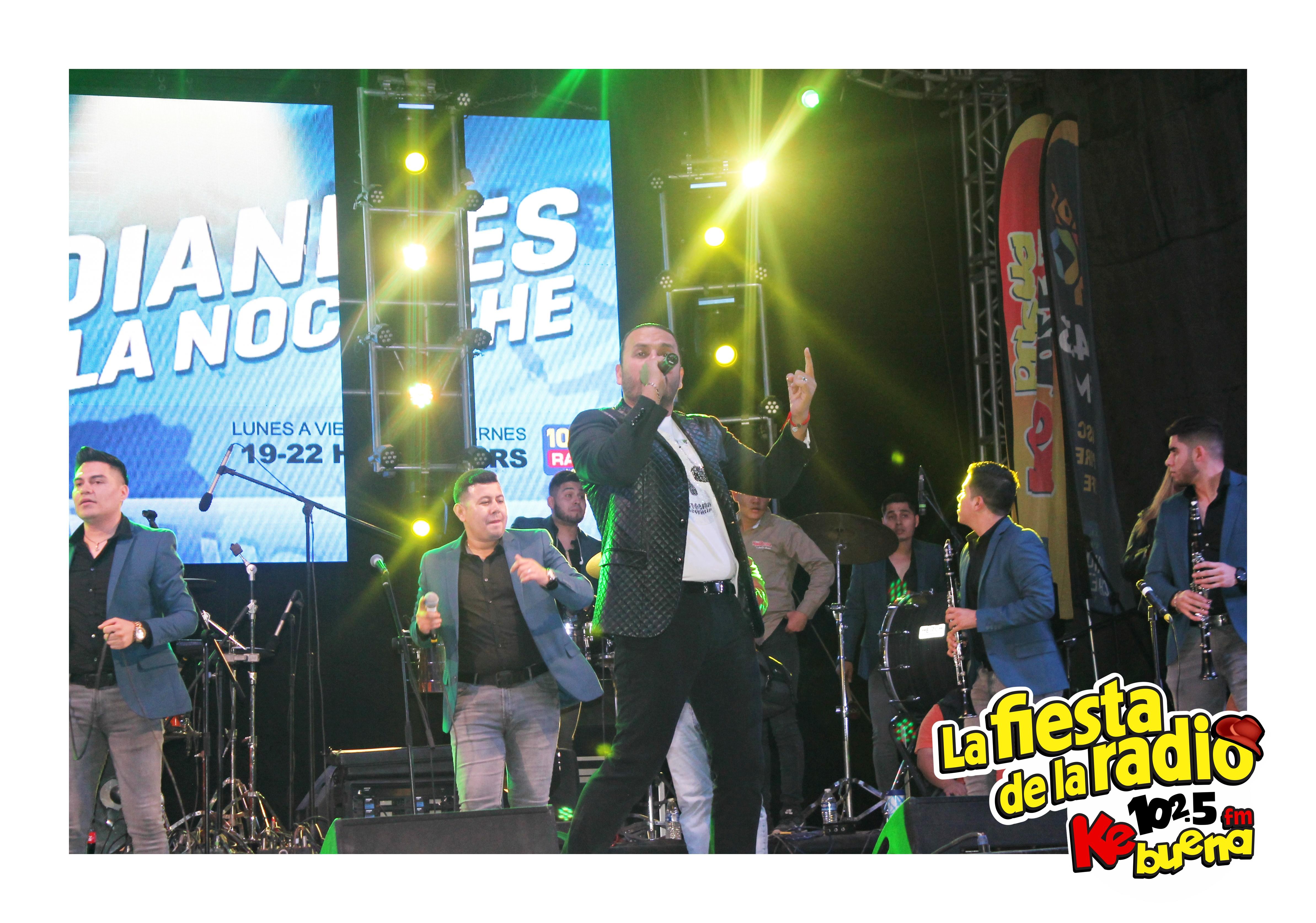CARLOS SARABIA EN LA FIESTA DE LA RADIO 2018
