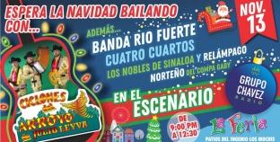 MARTES 13 DE BUENA SUERTE Y BUENA MUSICA EN EL ESCENARIO DE CHAVEZ RADIO