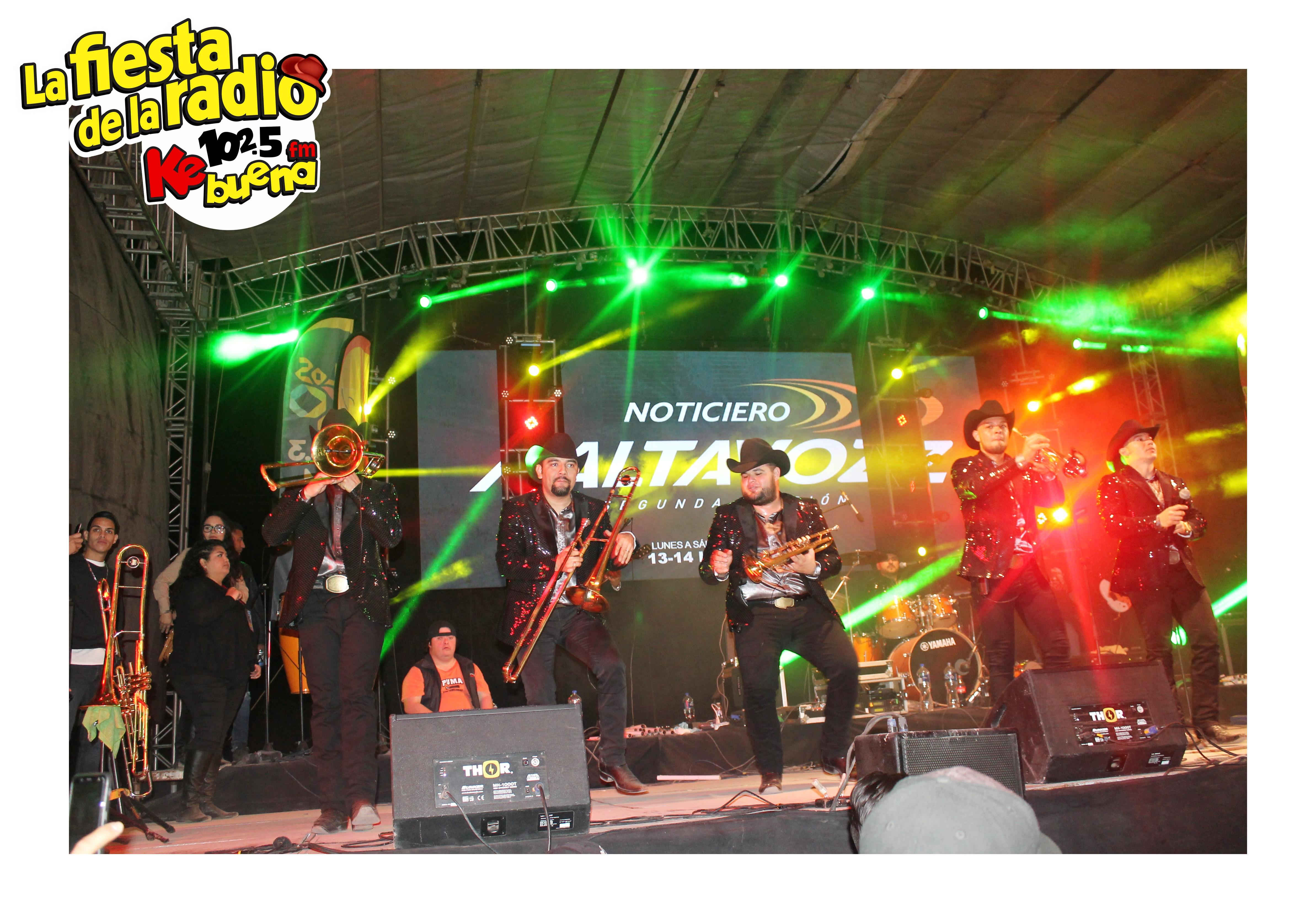 SU MAJESTAD LA BRISSA EN LA FIESTA DE LA RADIO 2018
