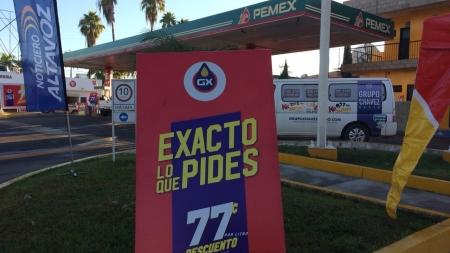 CONTINÚAN CON 77 CENTAVOS MENOS EN GAS EXACTO