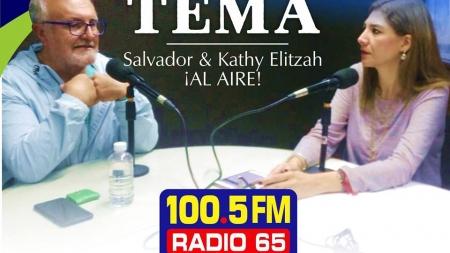 """DIARIAMENTE ESCUCHA LOS PODCAST DE """"EN EL TEMA"""" CON KATHY ELITZAH Y SALVADOR"""