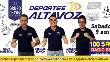 """¡ESTE SABADO NO PUEDES PERDERTE """"DEPORTES ALTAVOZ""""!"""
