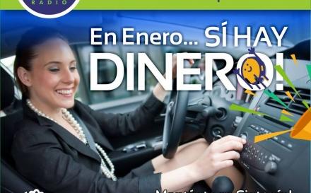 EN ENERO, SÍ HAY DINERO ¡ESCUCHANDO CHAVEZ RADIO!