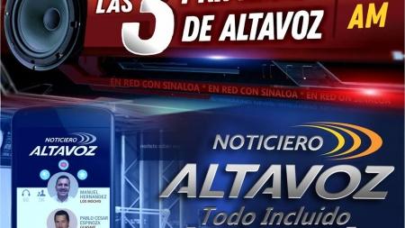 """LAS PRIMERAS DE """"ALTAVOZ TODO INCLUIDO"""""""