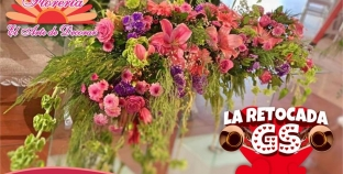 """LUISON CISNEROS TE INVITA A PARTICIPAR EN """"LA RETOCADA DE LA GS"""" PATROCINADA POR """"DECORARTE FLORERIA"""""""
