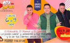 """LOS HIJOS DE LA MAÑANA LLEGAN MUY TEMPRANO A """"KE BUENA GUAMUCHIL"""""""
