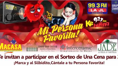 MI PERSONA FAVORITA ESTÁ EN CHAVEZ RADIO GUAMÚCHIL
