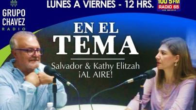 AL MEDIODÍA «EN EL TEMA» POR RADIO 65