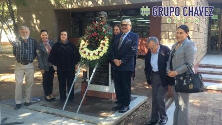 HOMENAJE LUCTUOSO A DON ROQUE CHAVEZ CASTRO EN UADEO CAMPUS GUASAVE