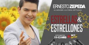 ERNESTO ZEPEDA ESTARÁ ÉSTE MARTES 12 CON ERICKA DEL CARMEN EN LA KE BUENA