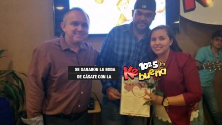 RAMON Y YUDITH ¡LOS GANADORES DE CÁSATE CON LA KEBUENA 2019!