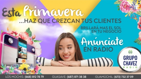 COSECHA EL ÉXITO COMERCIAL DE LA MANO DE CHAVEZ RADIO
