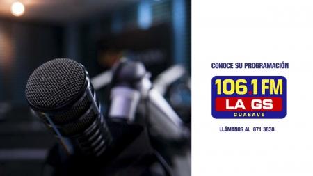 PROGRAMACIÓN SEMANAL DE LA GS 106.1 FM
