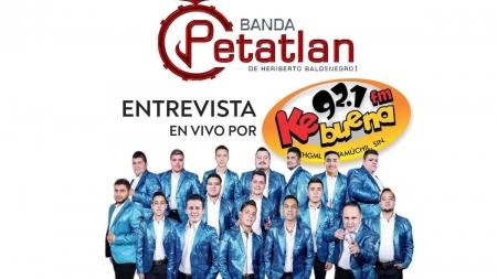 BANDA PETATLÁN EN ENTREVISTA KEBUENA GUAMUCHIL 92.1 FM