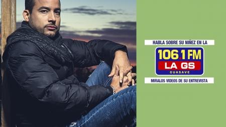 GERMAN MONTERO EN ENTREVISTA PARA LA GS 106.1FM