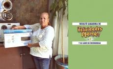 ELLA GANÓ EL MICROONDAS DE «AGENCIA FORD»