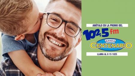 EL 102.5FM Y LA BANDA CENTENARIO ¡PREMIAN A PAPÁ!