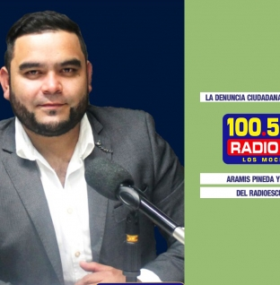 ARAMIS PINEDA EN «LA VOZ DEL RADIOESCUCHA»